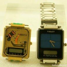 Relojes - Tissot: LOTE DE 2 TISSOT TWO TIMER UNO CON ARMYS PIEZAS. Lote 180114166