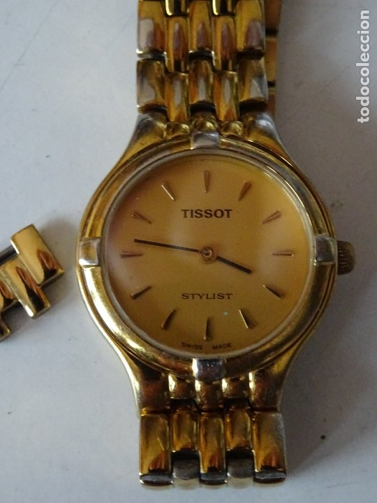 ANTIGUO RELOJ TISSOT STYLIST WATER RESISTANT 30 M. (Relojes - Relojes Actuales - Tissot)