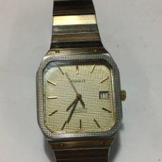 Relojes - Tissot: RELOJ TISSOT SEASTAR QUARZ CORREA ORIGINAL ACERO Y CHAPADO ORO MODELO VINTAGE ESFERA ESPECIAL. Lote 182890197