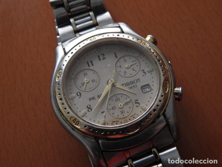 RELOJ TISSOT 1853 PR 50 - PARA REPARAR O PIEZAS - VER FOTOS (Relojes - Relojes Actuales - Tissot)