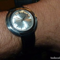 Relojes - Tissot: ESPECTACULAR RELOJ TISSOT SEASTAR CAJA MONOBLOQUE RARO SPACE AGE AÑOS 60 CARGA MANUAL TODO ACERO. Lote 183334700