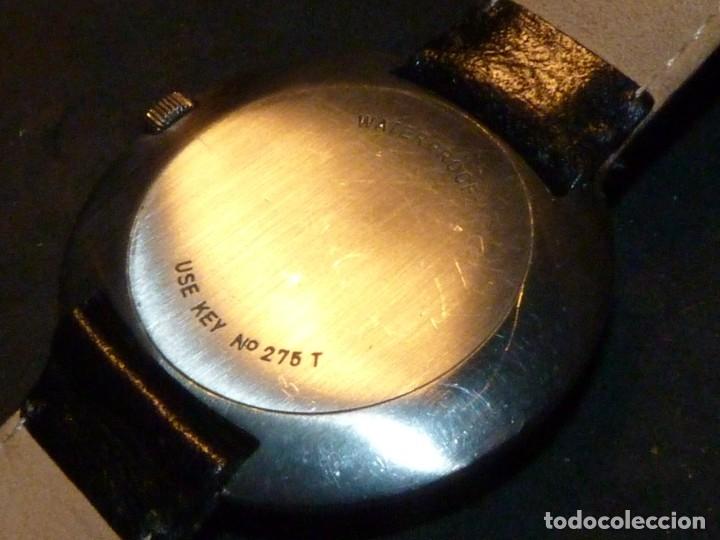 Relojes - Tissot: Espectacular reloj Tissot Seastar caja monobloque raro space age años 60 carga manual todo acero - Foto 3 - 183334700