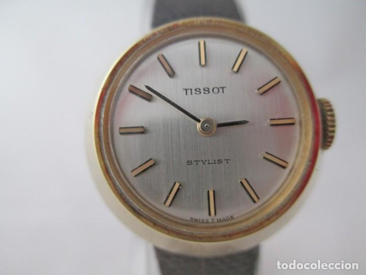 EXCEPCIONAL TISSOT STYLIST DAMA CASI NOS A CUERDA VINTAGE (Relojes - Relojes Actuales - Tissot)