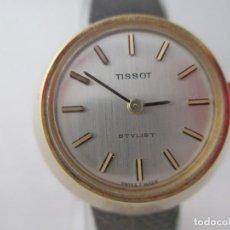 Relojes - Tissot: EXCEPCIONAL TISSOT STYLIST DAMA CASI NOS A CUERDA VINTAGE. Lote 187322901