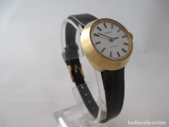 Relojes - Tissot: EXCEPCIONAL TISSOT STYLIST DAMA CASI NOS A CUERDA VINTAGE - Foto 2 - 187322901