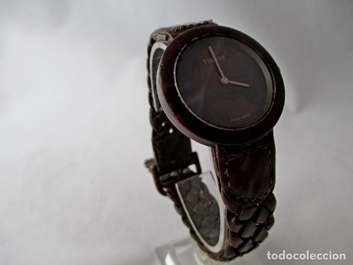 MUY RARO TISSOT WOOD WATCH R150 UNISEX VINTAGE (Relojes - Relojes Actuales - Tissot)