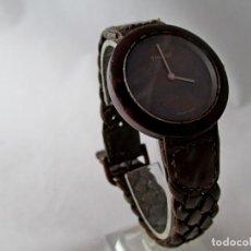 Relojes - Tissot: MUY RARO TISSOT WOOD WATCH R150 UNISEX VINTAGE. Lote 187435395