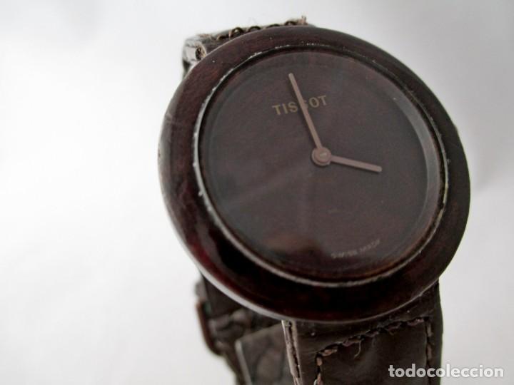 Relojes - Tissot: MUY RARO TISSOT WOOD WATCH R150 UNISEX VINTAGE - Foto 2 - 187435395