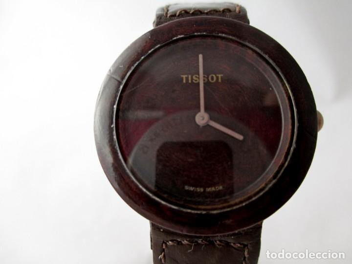 Relojes - Tissot: MUY RARO TISSOT WOOD WATCH R150 UNISEX VINTAGE - Foto 3 - 187435395