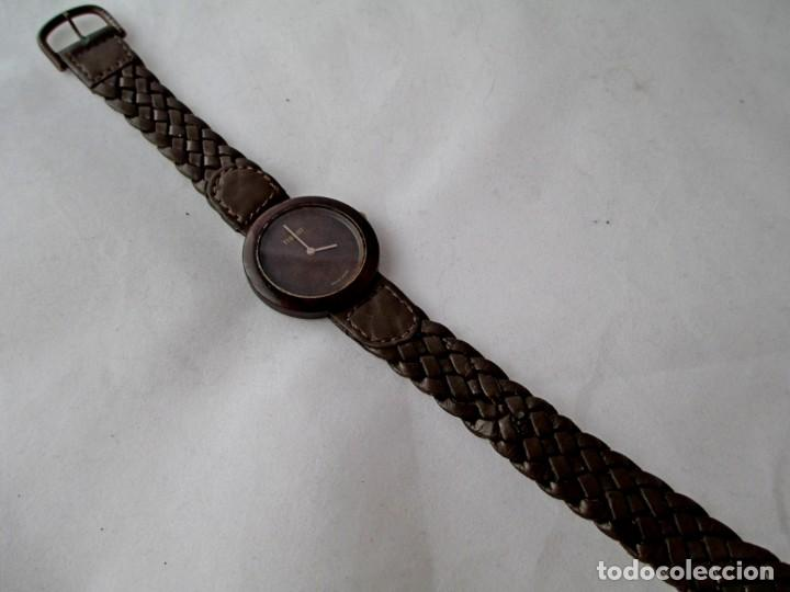 Relojes - Tissot: MUY RARO TISSOT WOOD WATCH R150 UNISEX VINTAGE - Foto 5 - 187435395