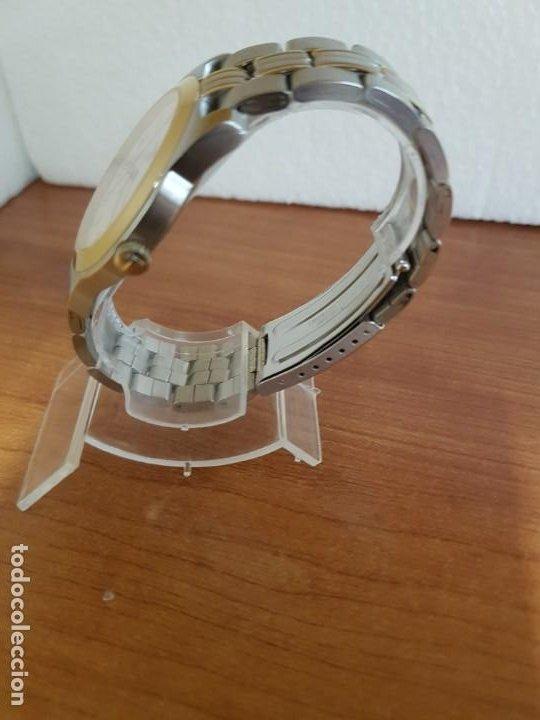 Relojes - Tissot: Reloj caballero TISSOT 1853 de acero bicolor con calendario, esfera blanca, correa original TISSOT - Foto 14 - 190998008