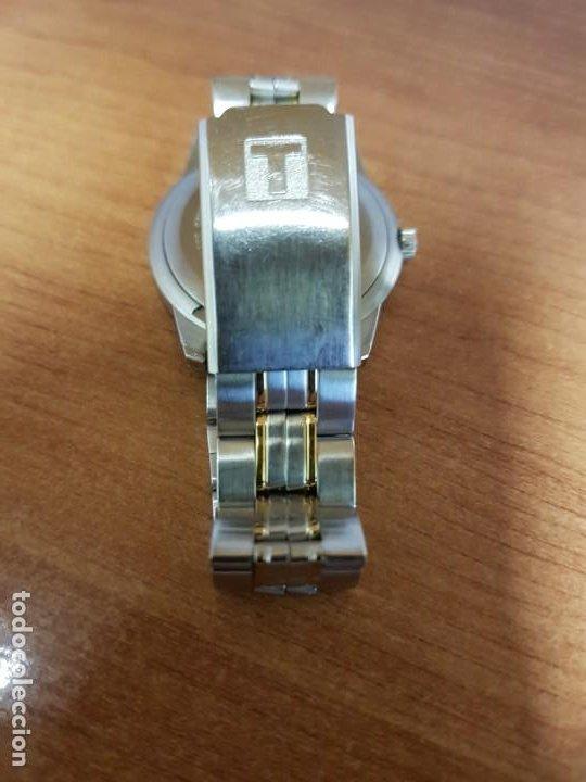 Relojes - Tissot: Reloj caballero TISSOT 1853 de acero bicolor con calendario, esfera blanca, correa original TISSOT - Foto 15 - 190998008