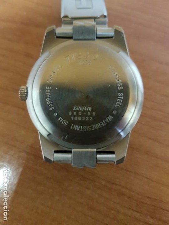 Relojes - Tissot: Reloj caballero TISSOT 1853 de acero bicolor con calendario, esfera blanca, correa original TISSOT - Foto 17 - 190998008