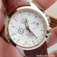 Relojes - Tissot: TISSOT HOMBRE 1853 CRONÓGRAFO FECHA CUARZO RELOJ DE TRABAJO. Lote 194106578