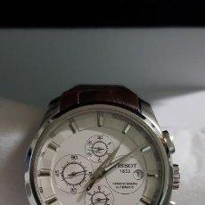 Relojes - Tissot: TISSOT COUTURIER CHRONOGRAPH REF.03562716 ESTADO MUY BUENO COMO NUEVO COMPLETO MAS ARTICULOS. Lote 194541327