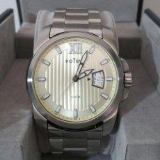 Relojes - Tissot: PRECIOSO RELOJ POTENS DE CABALLERO. Lote 204682950