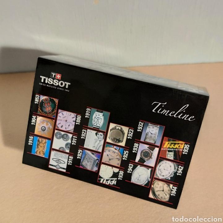 Relojes - Tissot: Tissot relojes Estuche caja -sin reloj- con todos los componentes, 2011, versión Portugal - Foto 2 - 209631810