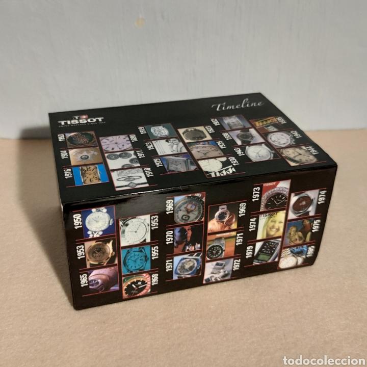 Relojes - Tissot: Tissot relojes Estuche caja -sin reloj- con todos los componentes, 2011, versión Portugal - Foto 3 - 209631810
