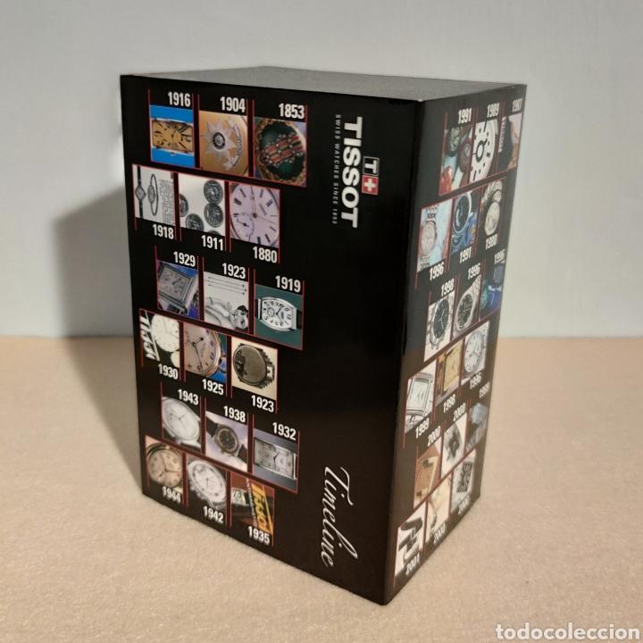 Relojes - Tissot: Tissot relojes Estuche caja -sin reloj- con todos los componentes, 2011, versión Portugal - Foto 4 - 209631810