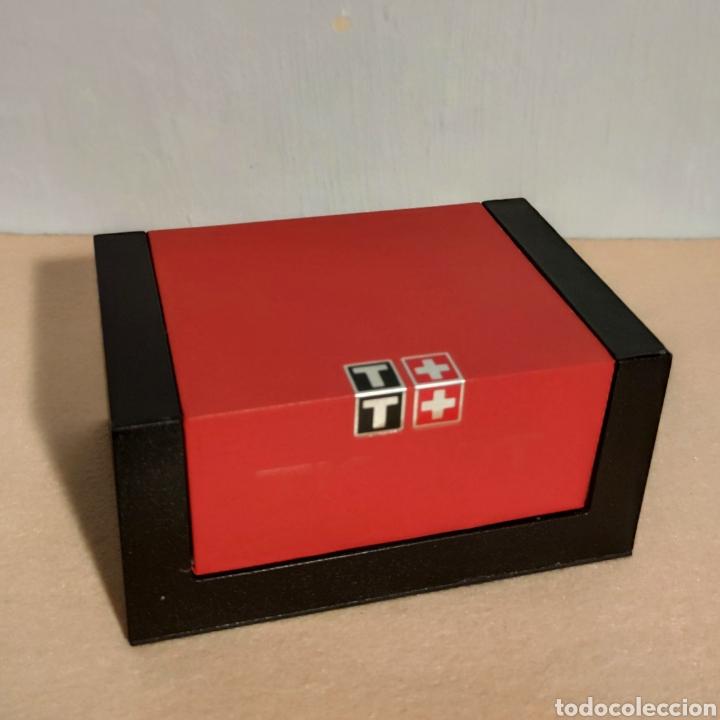 Relojes - Tissot: Tissot relojes Estuche caja -sin reloj- con todos los componentes, 2011, versión Portugal - Foto 7 - 209631810