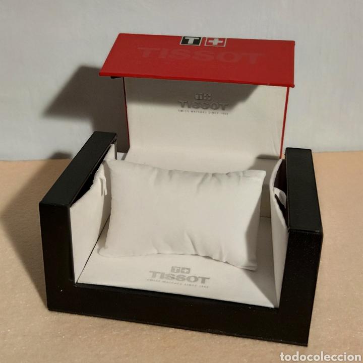 Relojes - Tissot: Tissot relojes Estuche caja -sin reloj- con todos los componentes, 2011, versión Portugal - Foto 8 - 209631810