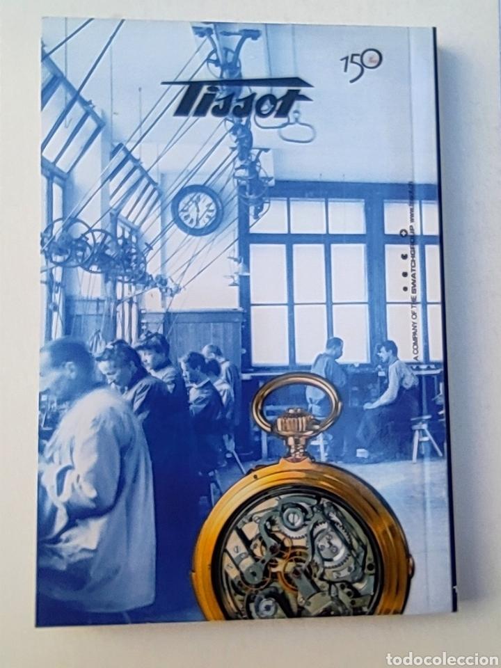 Relojes - Tissot: Tissot relojes Estuche caja -sin reloj- con todos los componentes, 2011, versión Portugal - Foto 12 - 209631810