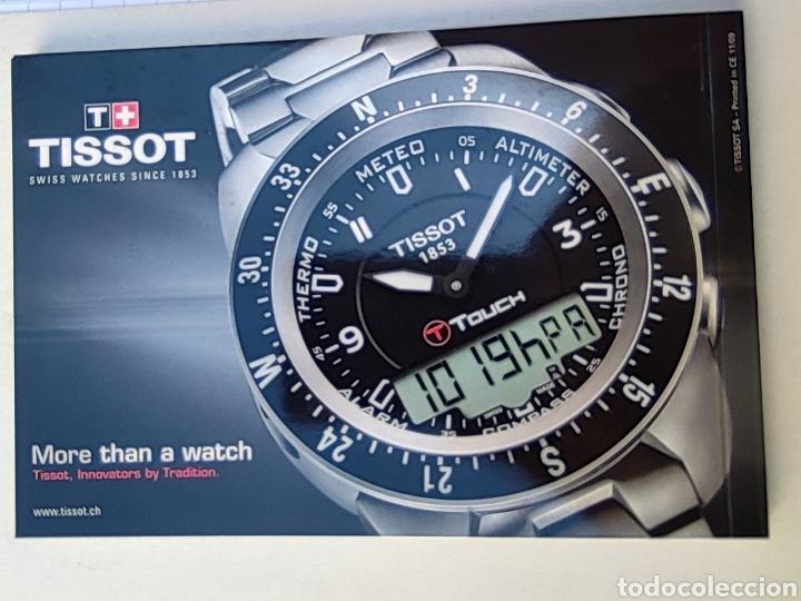 Relojes - Tissot: Tissot relojes Estuche caja -sin reloj- con todos los componentes, 2011, versión Portugal - Foto 16 - 209631810