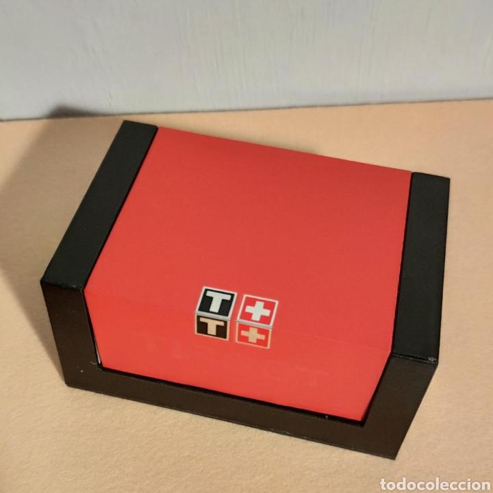 Relojes - Tissot: Tissot relojes Estuche caja -sin reloj- con todos los componentes, 2011, versión Portugal - Foto 19 - 209631810