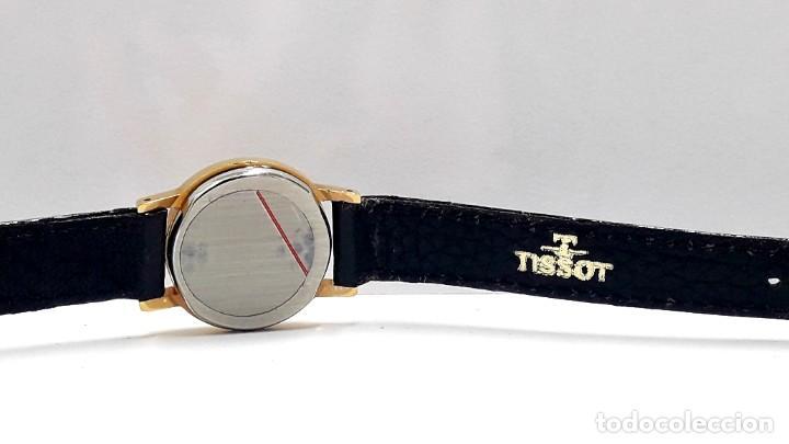 Relojes - Tissot: PRECIOSO RELOJ TISSOT DE SEÑORA AÑOS 80 EN PLAQUÉ DE ORO DE CUARZO Y NUEVO A ESTRENAR - Foto 8 - 209700738