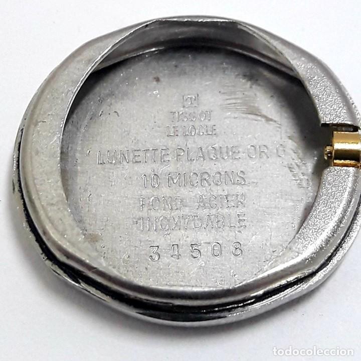 Relojes - Tissot: PRECIOSO RELOJ TISSOT DE SEÑORA AÑOS 80 EN PLAQUÉ DE ORO DE CUARZO Y NUEVO A ESTRENAR - Foto 10 - 209700738