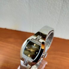 Relojes - Tissot: RELOJ SEÑORA TISSOT DE CUARZO SUIZO, CAJA DE ACERO CON BRILLANTES CORREA DE ACERO ORIGINAL TISSOT.. Lote 213907660