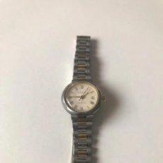 Relojes - Tissot: RELOJ VINTAGE TISSOT CALENDARIO BICOLOR QUARZ, 25 MM SIN CORONA. Y 27 MM CON CORONA. Lote 214503963