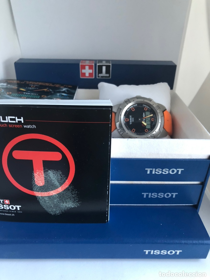 Relojes - Tissot: Reloj Tissot one touch primera edición 2004 - Foto 3 - 216604936