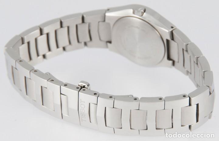 Relojes - Tissot: Tissot T-Round Steel and Diamonds MOP Dial Quartz 26mm T64.1.685.1 - Foto 10 - 217487356