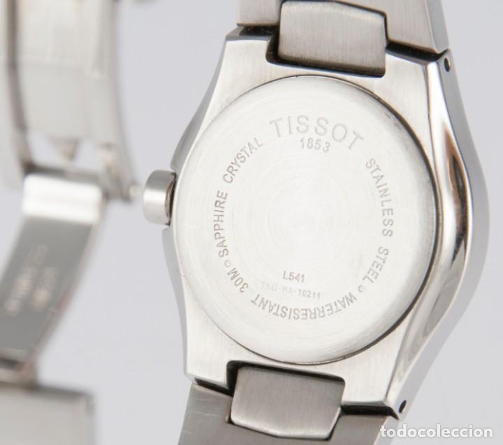 Relojes - Tissot: Tissot T-Round Steel and Diamonds MOP Dial Quartz 26mm T64.1.685.1 - Foto 12 - 217487356