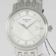 Relojes - Tissot: TISSOT BRIDGEPORT STEEL 40MM T097.410.11.038.00 NOS (NEW OLD STOCK). Lote 218602033