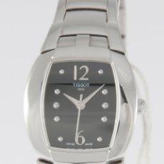 Relojes - Tissot: TISSOT LADY FEMINI-T BLACK DIAL T053.310.11.057.00 NOS (NEW OLD STOCK). Lote 218602556