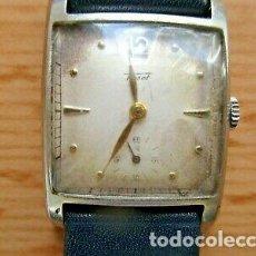 Relojes - Tissot: RARO TISSOT MECÁNICO AÑOS 50 FUNCIONANDO. Lote 218698161