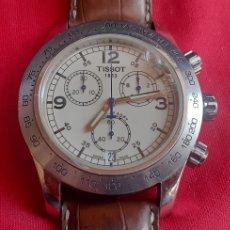 Relojes - Tissot: RELOJ TISSOT 1853 CHRONOMETRO CUARZO .MIDE 43 MM DIAMETRO .TIENE UN GOLPE EN EL CRISTAL. Lote 219087853