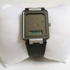 Relojes - Tissot: RELOJ ANÁLOGO DIGITAL TISSOT TWOTIMER AÑOS 90 NUEVO. Lote 221821112