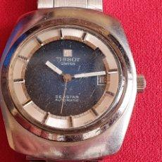 Relojes - Tissot: RRLOJ TISSOT SWISS SEASTAR AUTOMATICO .MIDE 37 MM DIAMETRO FUNCIONA BIEN. Lote 222029978