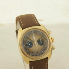 Relojes - Tissot: RARO TISSOT NAVIGATOR MECANICO CRONOGRAFO LEMANIA 872 FUNCIONANDO. Lote 224884690