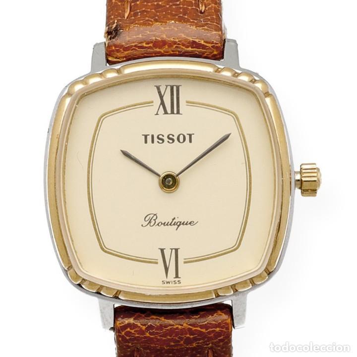 Relojes - Tissot: Tissot Boutique Reloj de Mujer en Acero y Baño de Oro de Ley - Foto 2 - 225465503