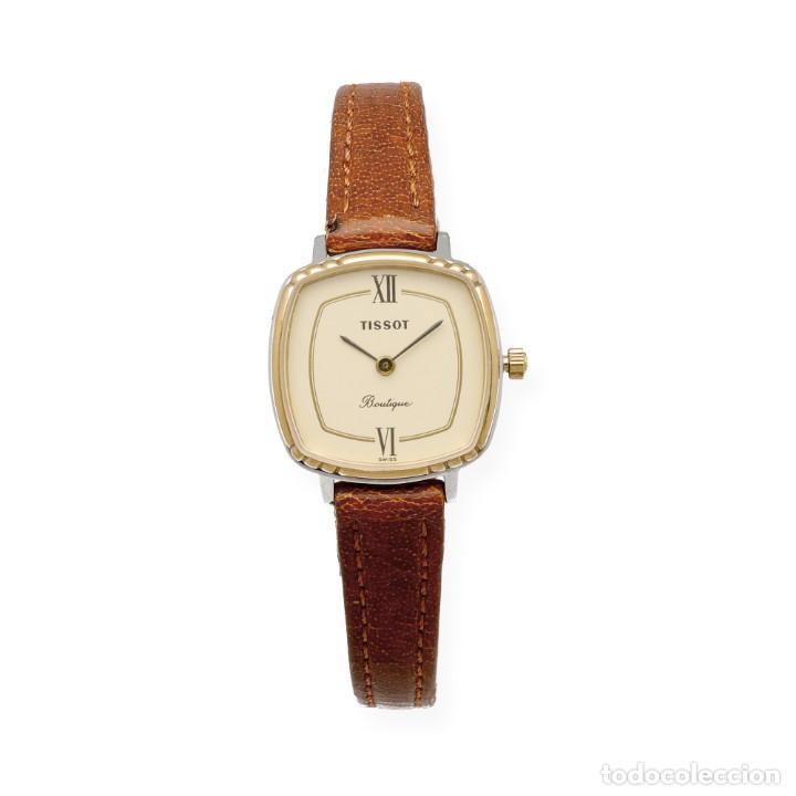 Relojes - Tissot: Tissot Boutique Reloj de Mujer en Acero y Baño de Oro de Ley - Foto 3 - 225465503