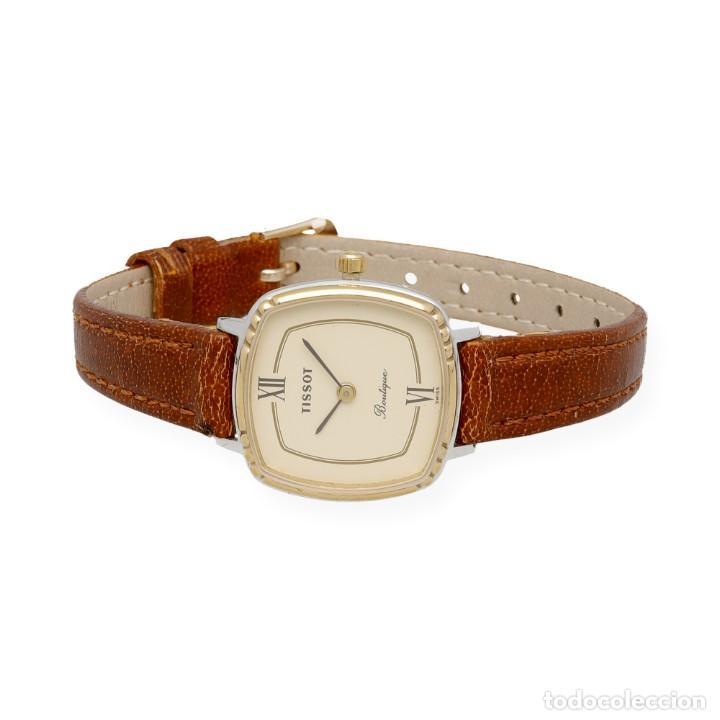Relojes - Tissot: Tissot Boutique Reloj de Mujer en Acero y Baño de Oro de Ley - Foto 4 - 225465503