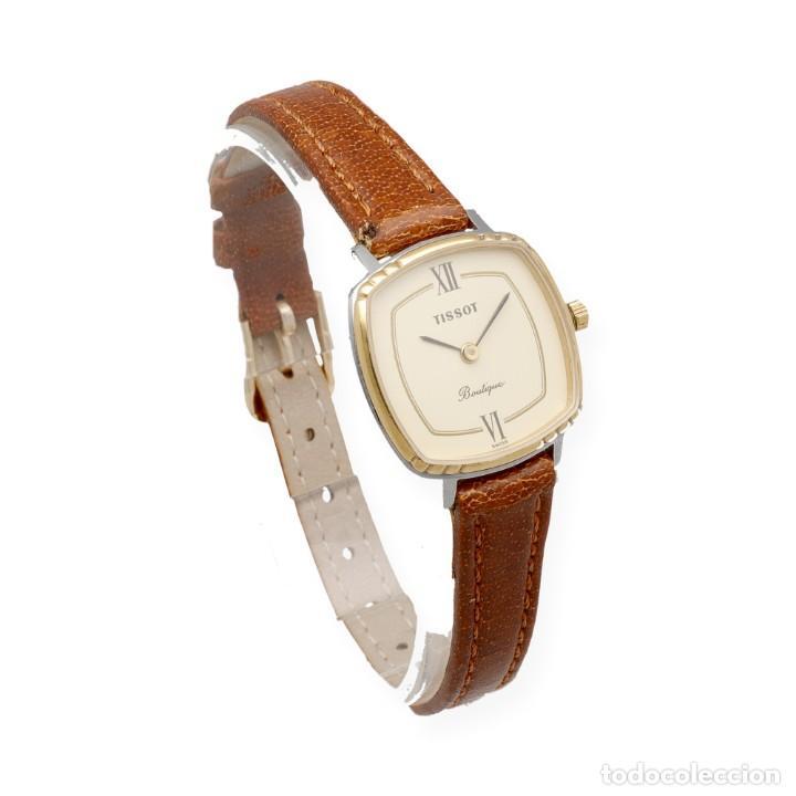 Relojes - Tissot: Tissot Boutique Reloj de Mujer en Acero y Baño de Oro de Ley - Foto 5 - 225465503