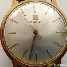 Relojes - Tissot: RELOJ TISSOT VINTAGE DORADO, (FUNCIONA), (3,5 CM. DIAMETRO). Lote 235784635
