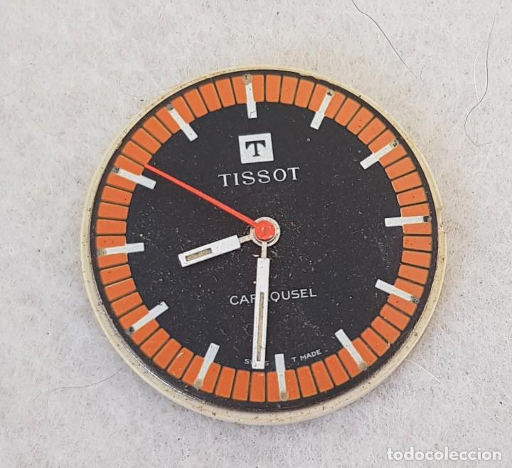 TISSOT CARROUSEL MECANICO CALIBRE + ESFERA + AGUJAS + BATA MANUFACTURA 781-1 (Relojes - Relojes Actuales - Tissot)