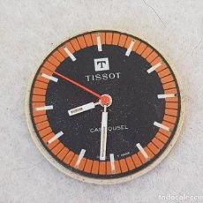 Relojes - Tissot: TISSOT CARROUSEL MECANICO CALIBRE + ESFERA + AGUJAS + BATA MANUFACTURA 781-1. Lote 239421880