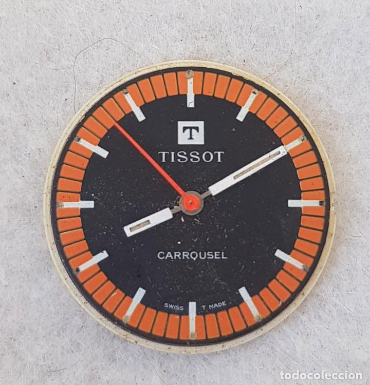 Relojes - Tissot: TISSOT CARROUSEL MECANICO CALIBRE + ESFERA + AGUJAS + BATA MANUFACTURA 781-1 - Foto 2 - 239421880